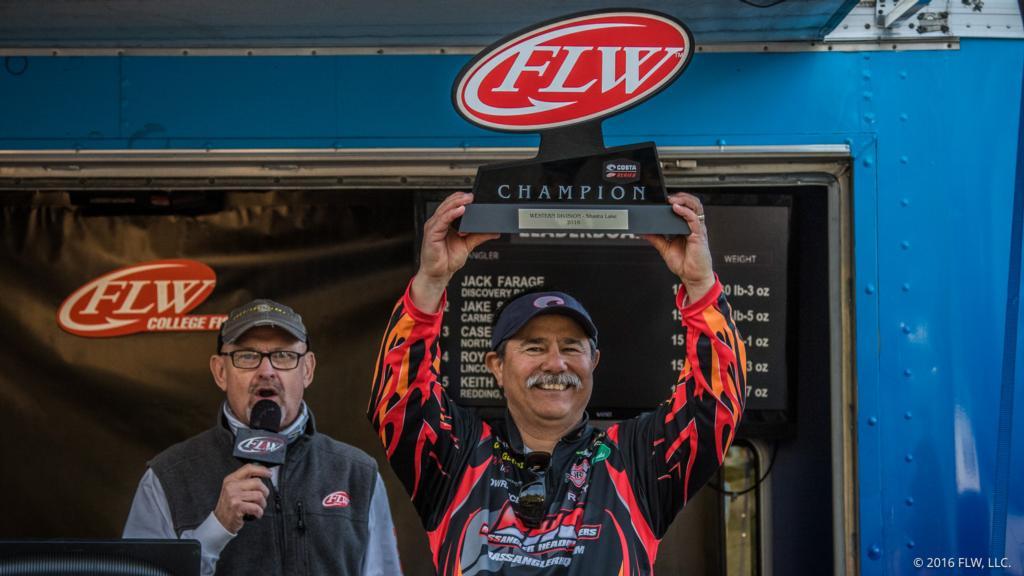 Image for Californian Gutierrez Wins Costa FLW Series Western Opener On Lake Shasta Presented By Minn Kota