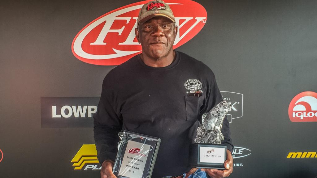 Image for Eady Wins FLW Bass Fishing League Gator Division Event on Lake Toho
