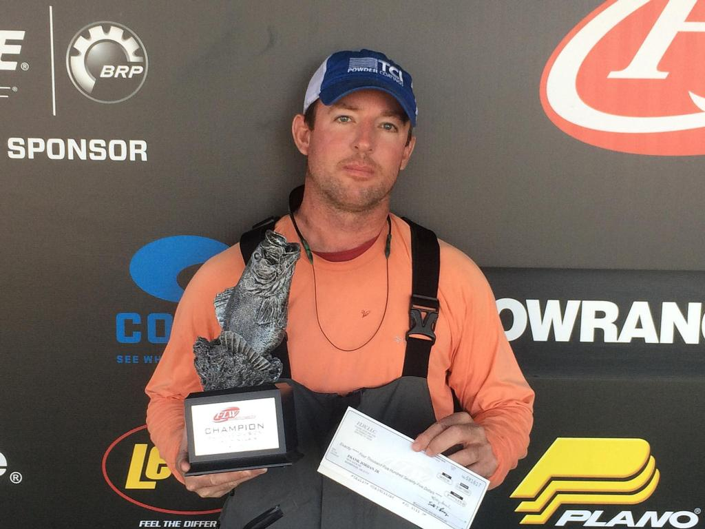 Image for Jordan Wins FLW Bass Fishing League Bulldog Division Event on Lake Sinclair
