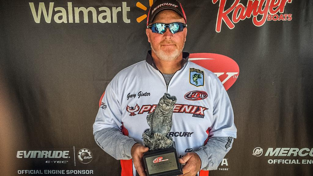 Image for Maplewood's Ginter Wins FLW Bass Fishing League Buckeye Division Opener on Grand Lake