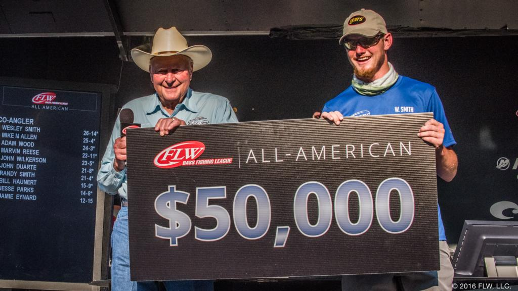 Image for Smith Swims His Way to BFL Co-Angler Crown