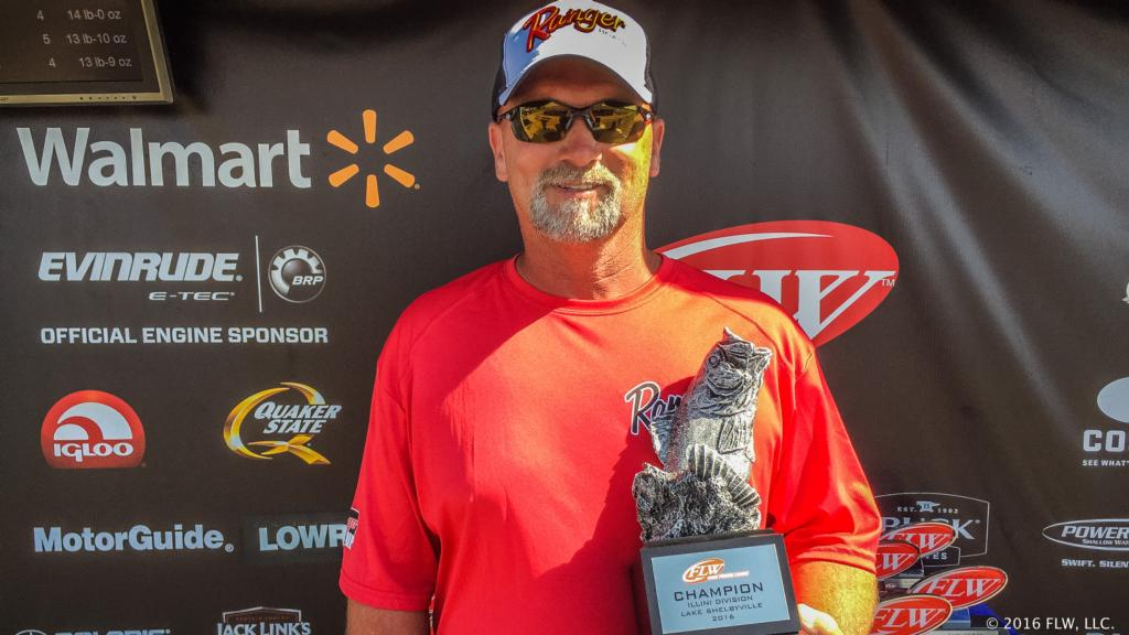Image for Dieterich's Dill Wins FLW Bass Fishing League Illini Division Event on Lake Shelbyville Presented By Power-Pole