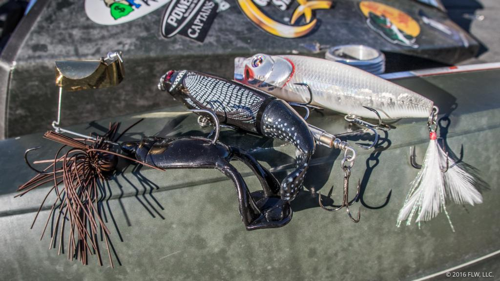 Image for Top 10 Baits from Norris Lake