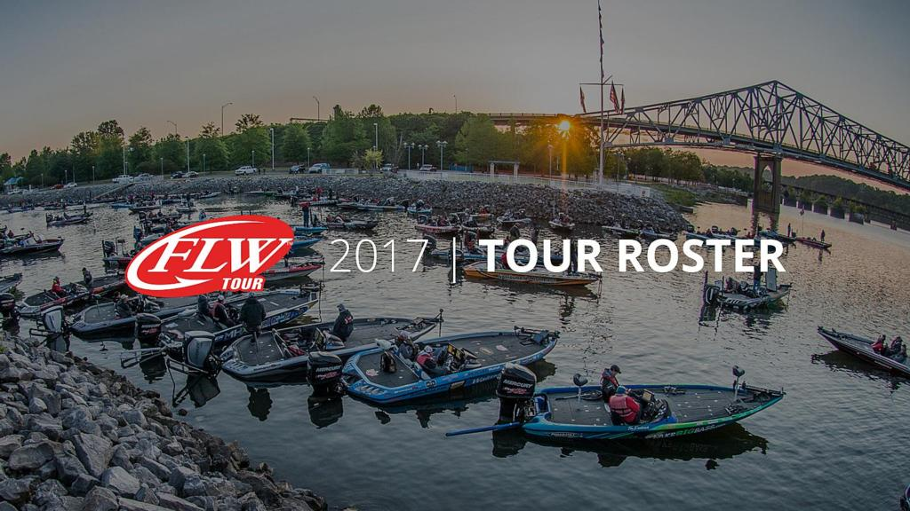 Image for 2017 FLW Tour Roster