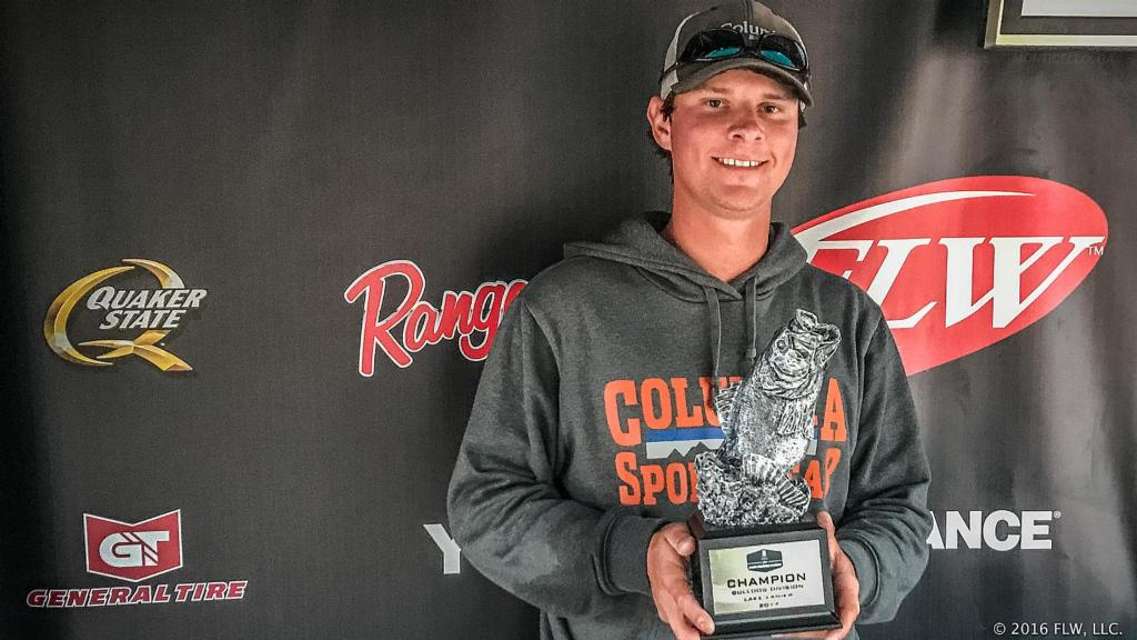 Image for Columbus' Morgan Wins T-H Marine FLW Bass Fishing League Bulldog Division Opener on Lake Lanier