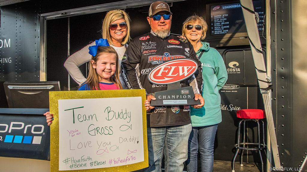 Image for Chickamauga's Gross Wins Costa FLW Series Southeastern Division Event on Lake Seminole Presented by Mud Hole Custom Tackle