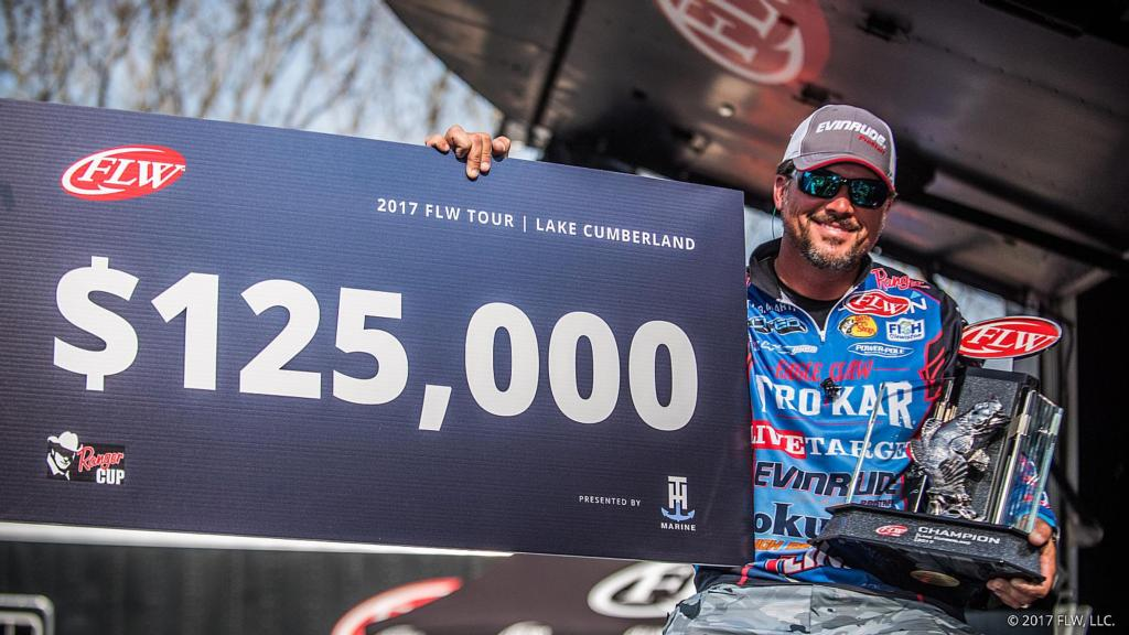 Image for Martin Wins FLW Tour on Lake Cumberland Presented by T-H Marine