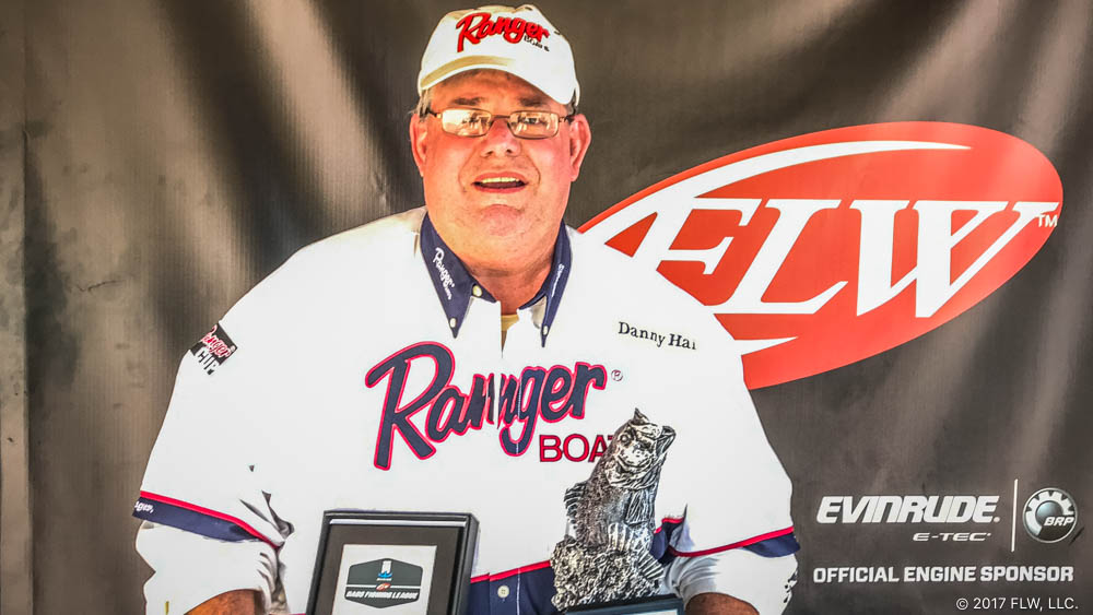 Image for Yadkinville's Haire Wins T-H Marine FLW Bass Fishing League Shenandoah Division Event on Kerr Lake