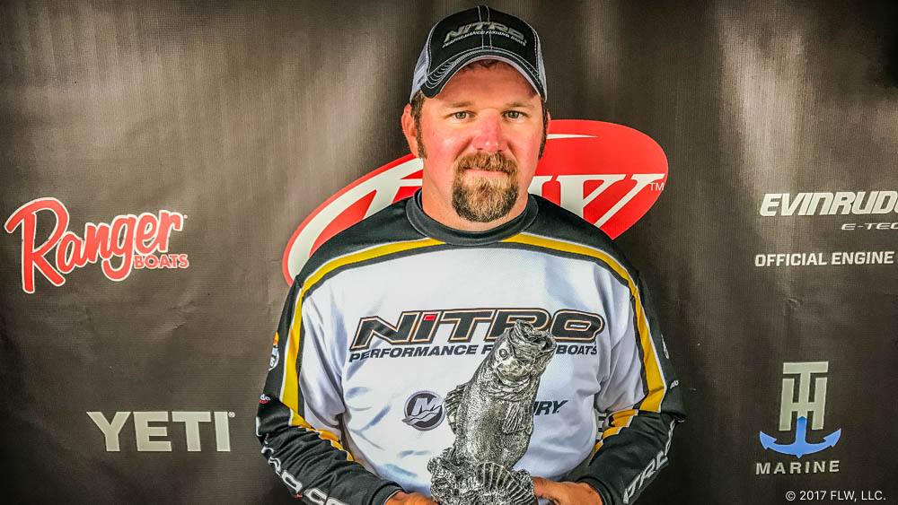 Image for Sheridan's Henderson Wins T-H Marine FLW Bass Fishing League Arkie Division Event on the Arkansas River Presented by Mud Hole Custom Tackle