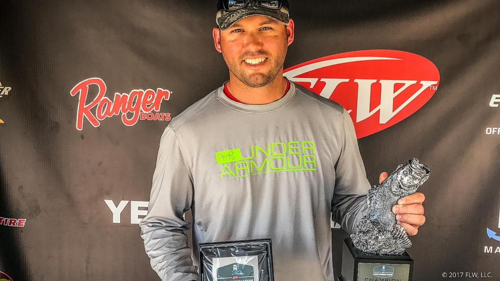 Image for Indiana's Sisk Wins T-H Marine FLW Bass Fishing League Illini Division Tournament on Rend Lake