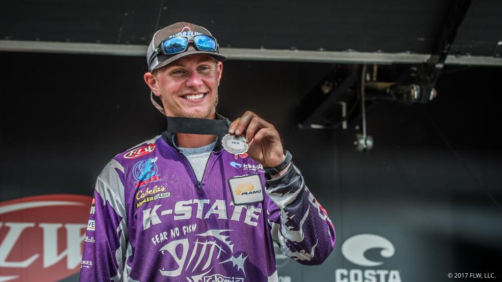 Image for KSU's Alsop Wins YETI FLW College Fishing National Championship Fish-Off on Wilson Lake, Entry to Forrest Wood Cup
