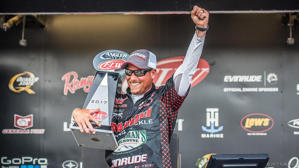Image for Thrift Claims Second FLW Tour Angler of the Year Title