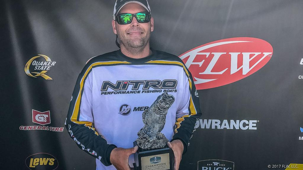Image for Johnson Earns First BFL Win on Old Hickory Lake