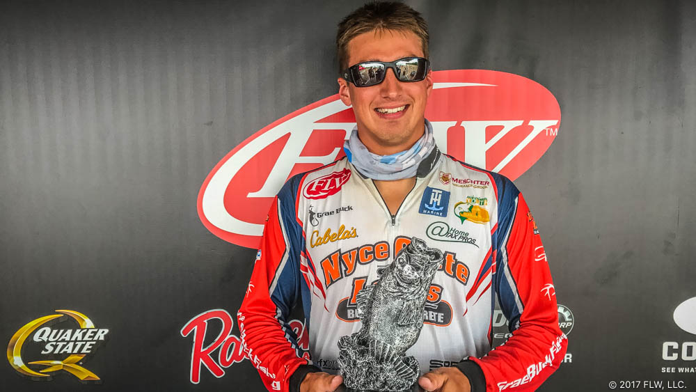 Image for Pennsylvania's Buck Wins T-H Marine FLW Bass Fishing League Northeast Division Tournament on Oneida Lake