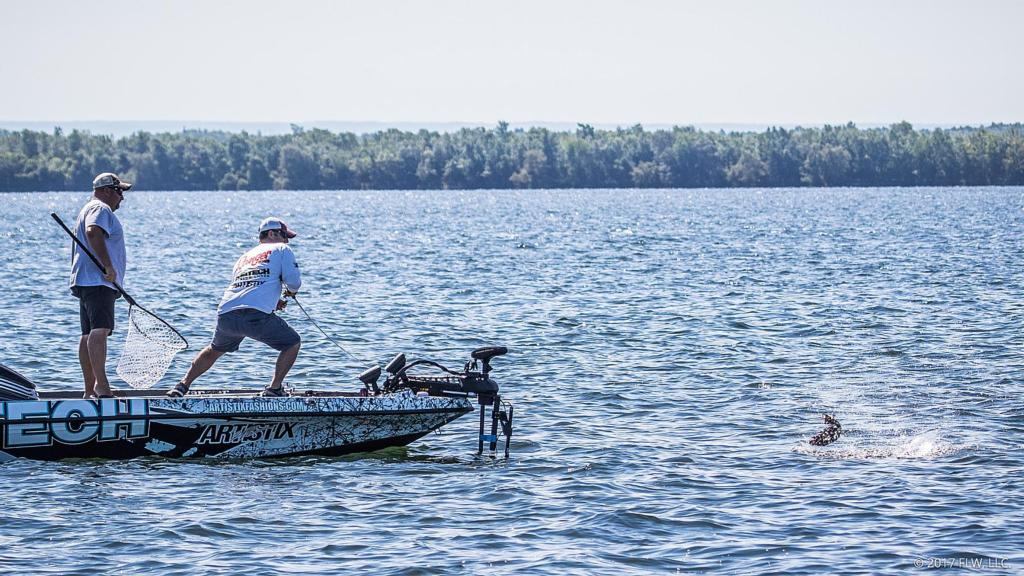 Image for Season Ends on World's Best Smallie Pond