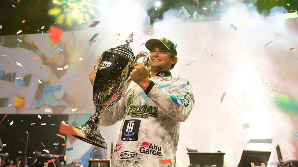 Image for Atkins Wins Professional Bass Fishing's Forrest Wood Cup