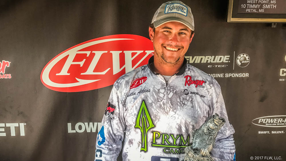 Image for Atkins Wins T-H Marine FLW Bass Fishing League Mississippi Division Finale on Ross Barnett Reservoir
