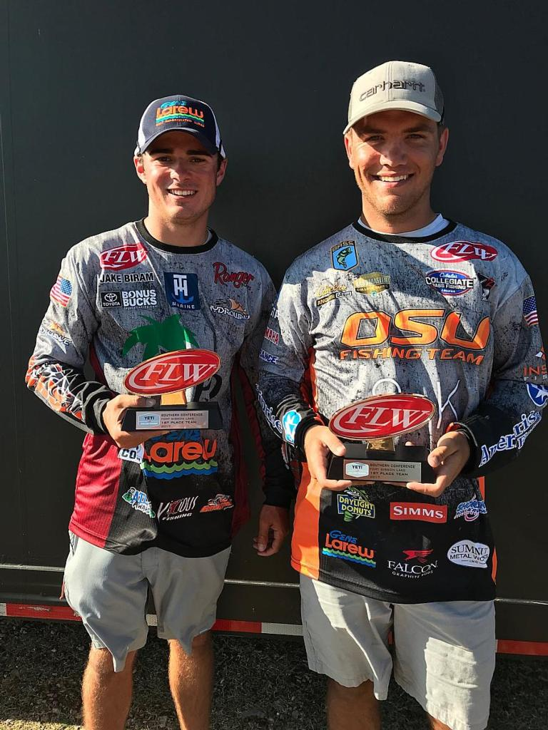 Image for Oklahoma State University Wins YETI FLW College Fishing Tournament at Fort Gibson Lake