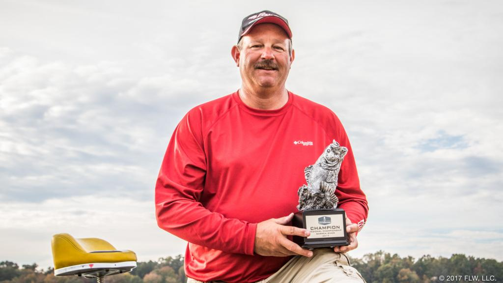 Image for Lexington's Sanders Wins T-H Marine FLW Bass Fishing League Regional Tournament on Barren River Presented by Lowrance