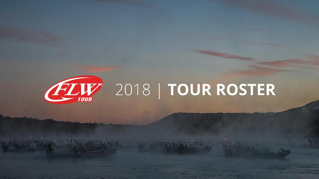 Image for FLW Announces 2018 FLW Tour Pro Roster