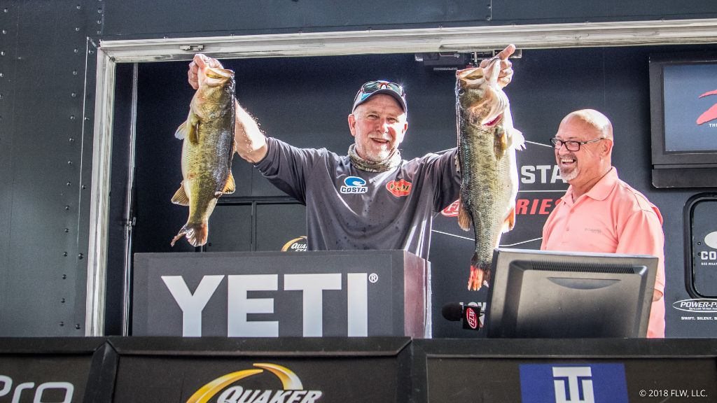 Image for Lasyone Takes Day One Lead at Rayburn
