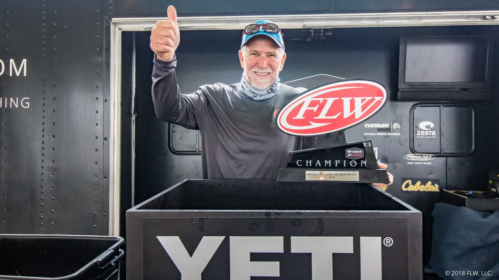 Image for Fog Cancels Day Three, Louisiana's Lasyone Declared Winner at Costa FLW Series Southwestern Division Opener on Sam Rayburn presented by YETI