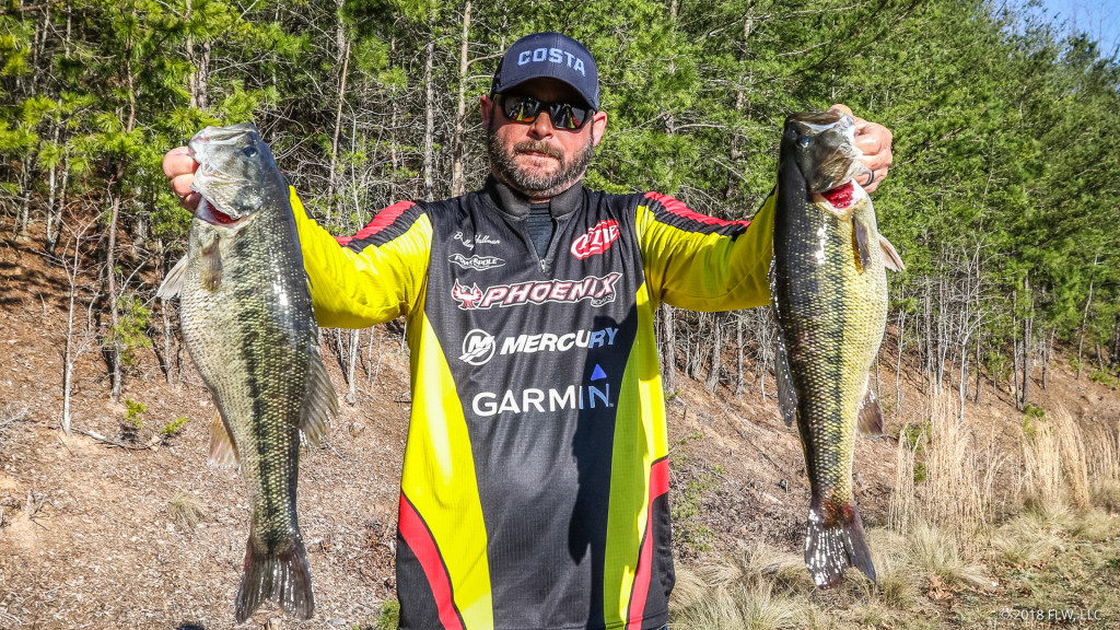 Image for Oklahoma's Hallman Grabs Lead on Day One of FLW Tour at Lake Lanier presented by Ranger Boats