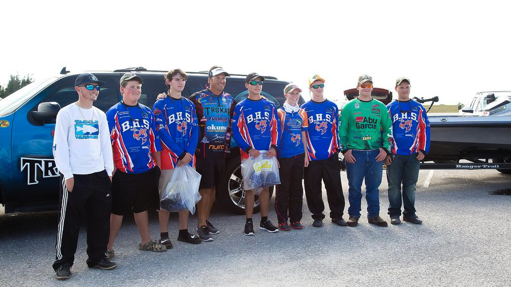 Image for Costa, FLW Launch High School Fishing Summer Camp