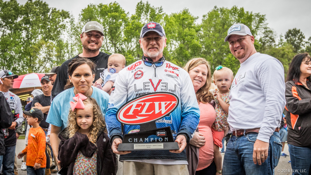 Image for McCoy Wins Costa FLW Series Southeastern Division Finale on Santee Cooper Lakes presented by Bass Pro Shops