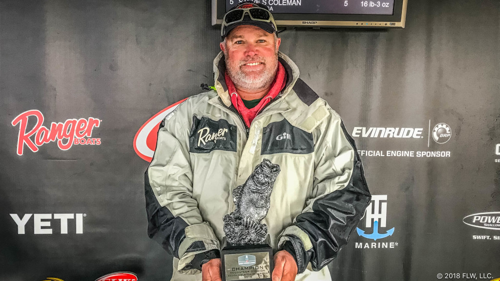 Image for Elizabethton's Chambers Wins T-H Marine FLW Bass Fishing League Volunteer Division Event on South Holston Reservoir