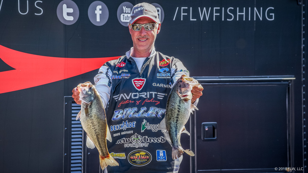 Image for Morgan Leads Day One of FLW Tour at Lake Cumberland presented by General Tire
