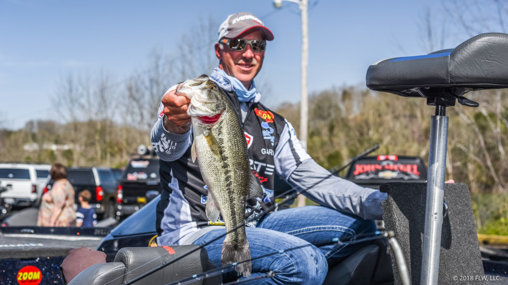 Image for Morgan Maintains Lead on Day Two of FLW Tour at Lake Cumberland presented by General Tire