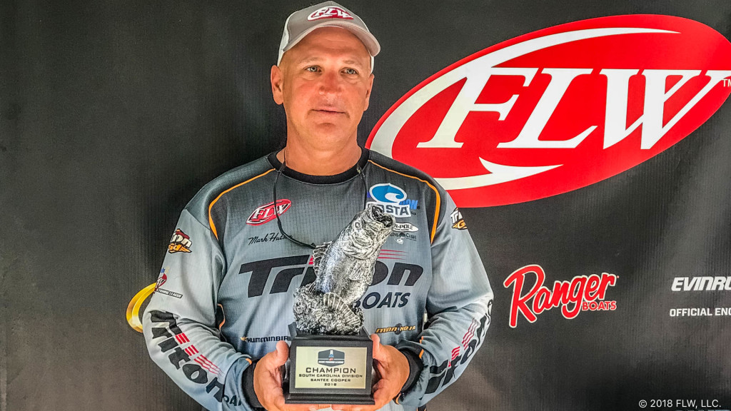Image for Hutson Wins T-H Marine FLW Bass Fishing League South Carolina Division Event on Santee Cooper Lakes