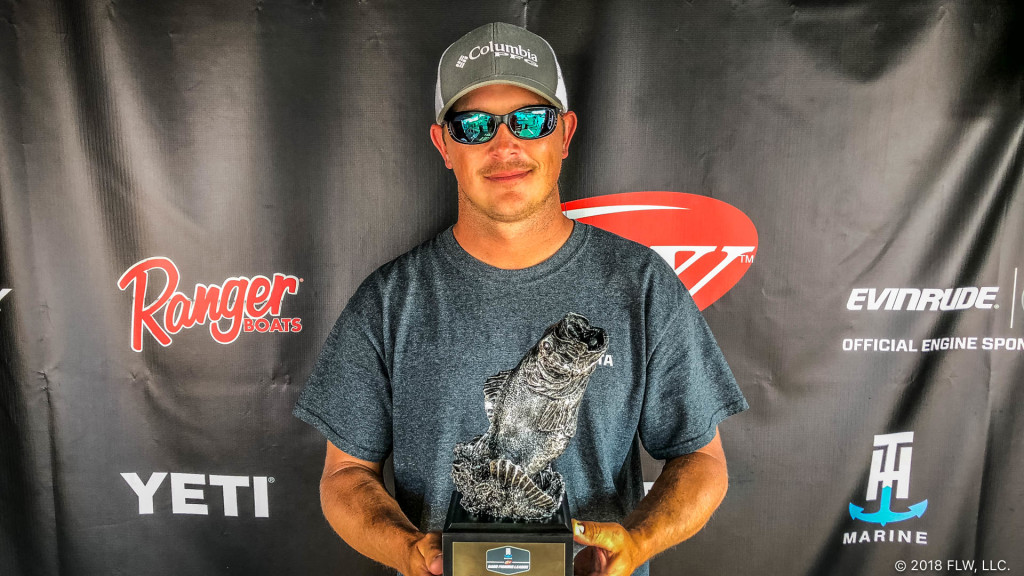 Image for Hollister's Reed Wins T-H Marine FLW Bass Fishing League Gator Division Event on Lake Okeechobee