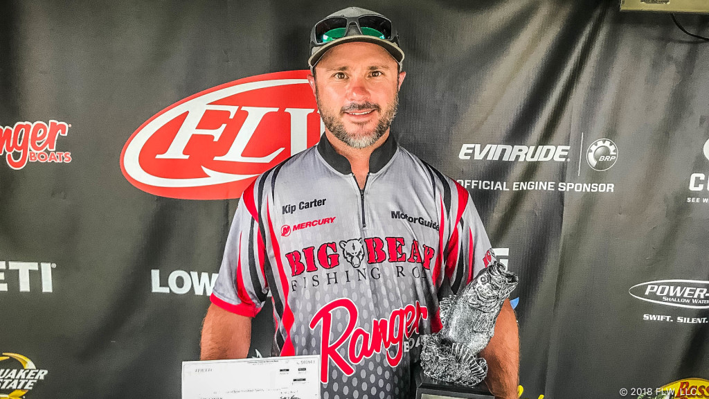 Image for Social Circle's Carter Wins T-H Marine FLW Bass Fishing League Bulldog Division Event on Lake Sinclair