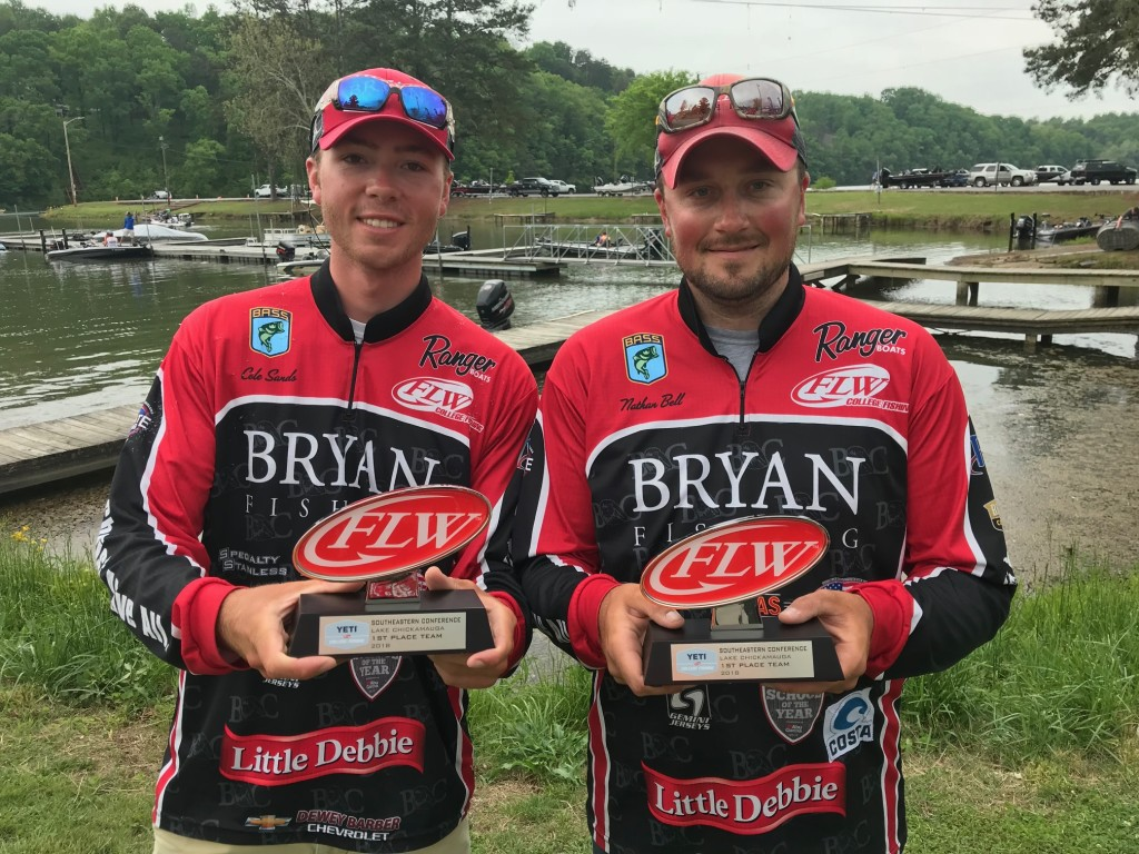 Image for Bryan College Angler Skips Graduation, Wins YETI FLW College Fishing Event at Lake Chickamauga presented by Bass Pro Shops