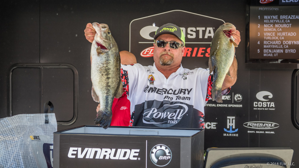 Image for Breazeale Extends His Lead on Clear lake