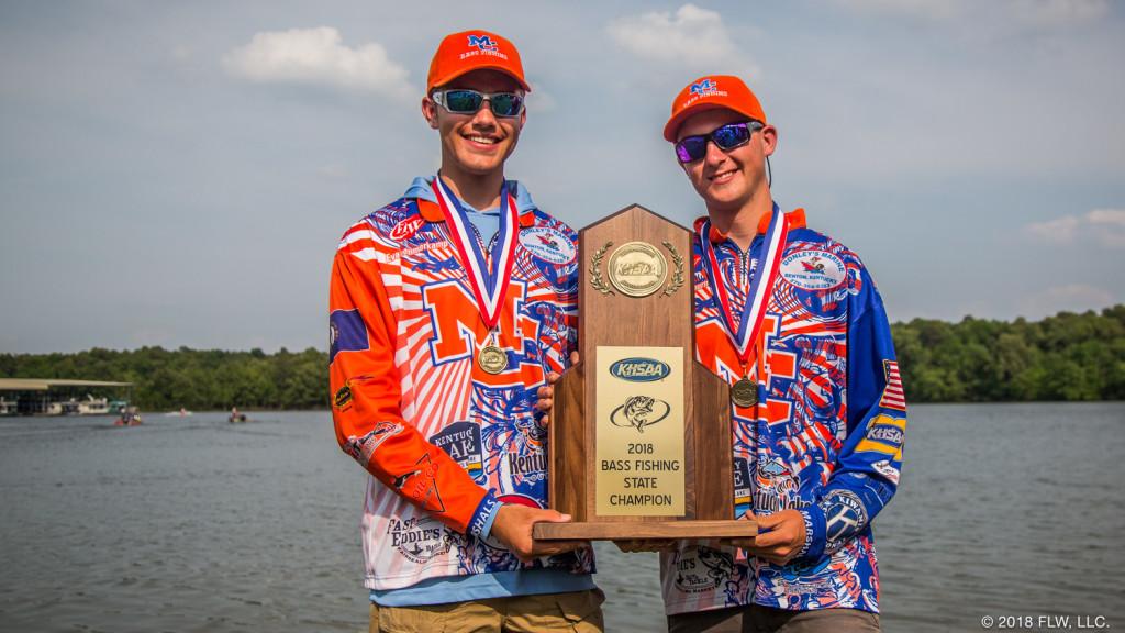 Image for Marshall County High School Wins 2018 KHSAA State Bass Fishing Championship on Kentucky Lake