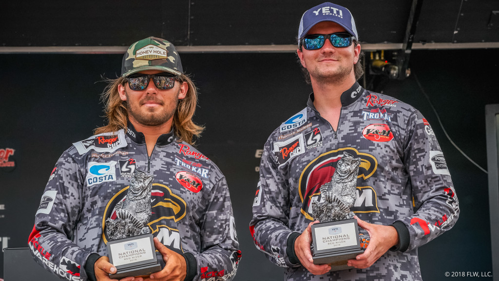 Image for ULM Goes Wire-To-Wire, Wins YETI FLW College Fishing National Championship presented by Lowrance C-MAP Genesis on Red River
