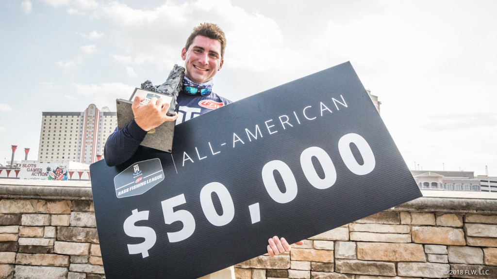 Image for Bouldin is All-American Co-angler Champ