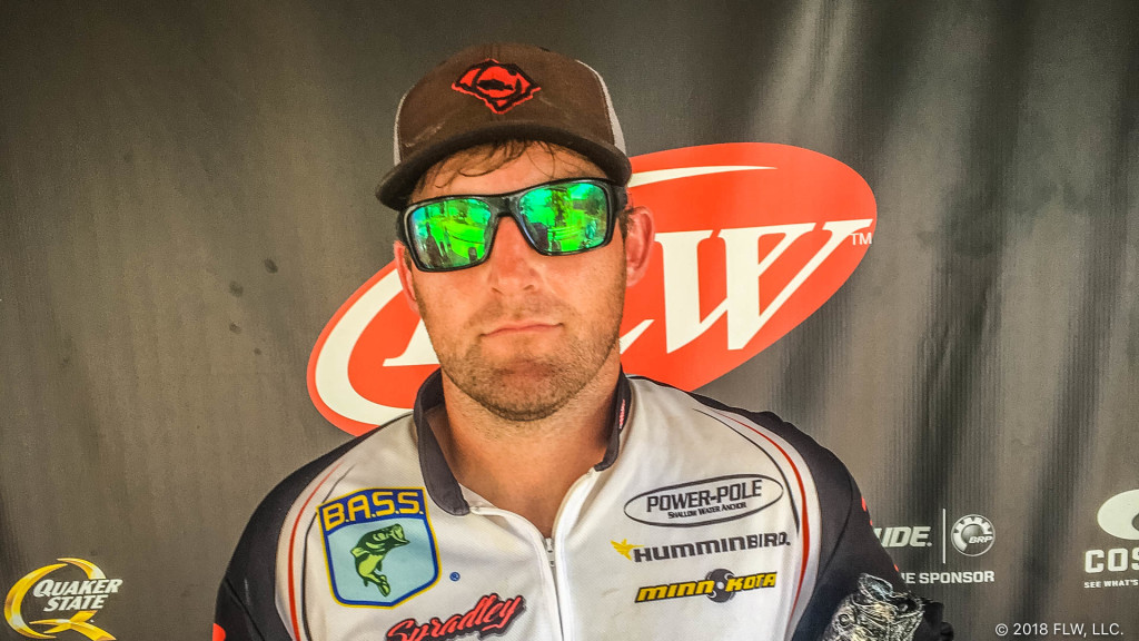 Image for South Carolina's Spradley Wins T-H Marine FLW Bass Fishing League Savannah River Division Tournament on Clarks Hill Lake