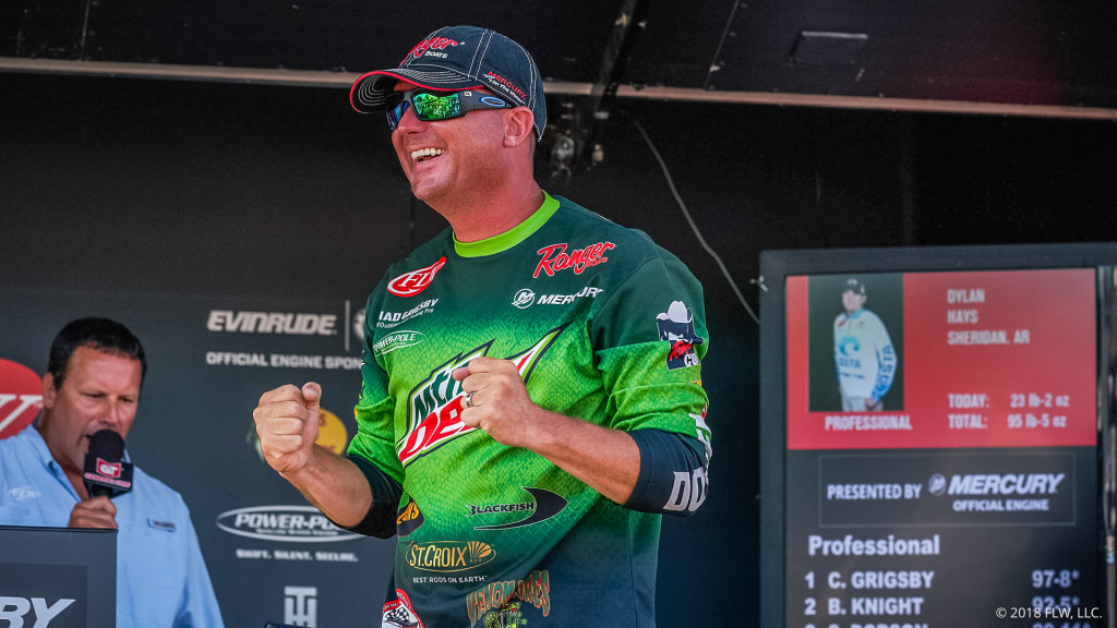Image for In-Depth Interview with FLW Tour Pro Chad Grigsby on the We Fish ASA Podcast