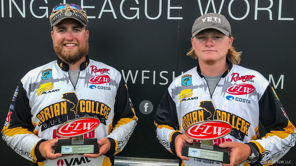 Image for Adrian College Wins YETI FLW College Fishing Northern Conference Event on Lake Cayuga Presented by Bass Pro Shops