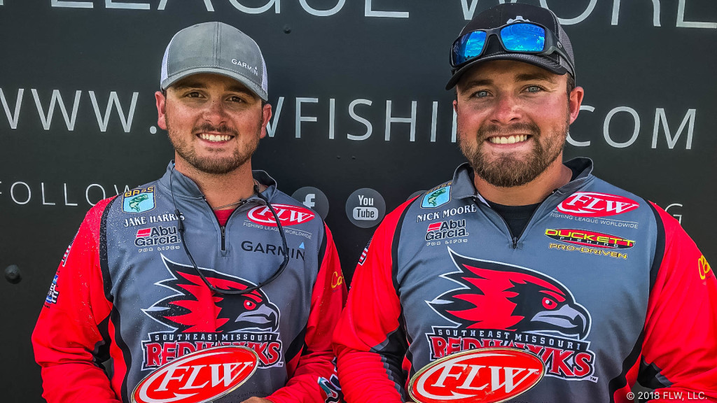 Image for Southeast Missouri State University Wins YETI FLW College Fishing Central Conference Event on Mississippi River at Wabasha Presented by Costa