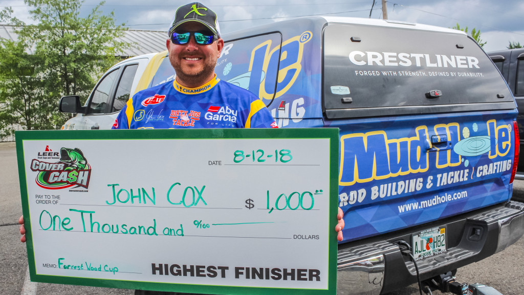 Image for 8th Place Earns Cox LEER, Toyota Contingencies