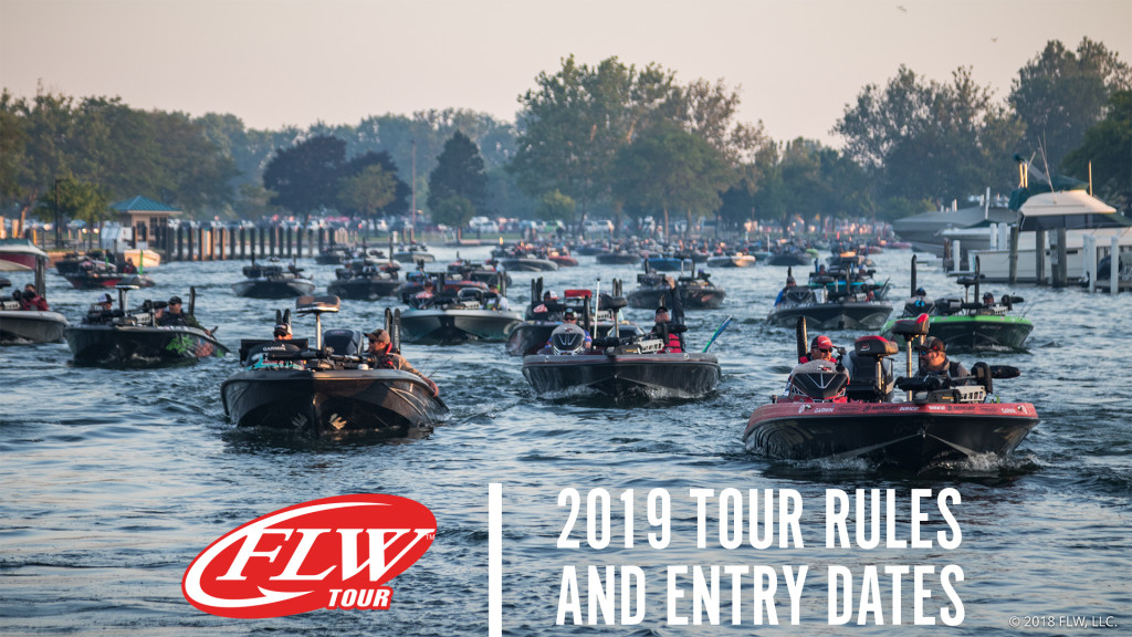 Image for 2019 FLW Tour Rules and Entry Dates
