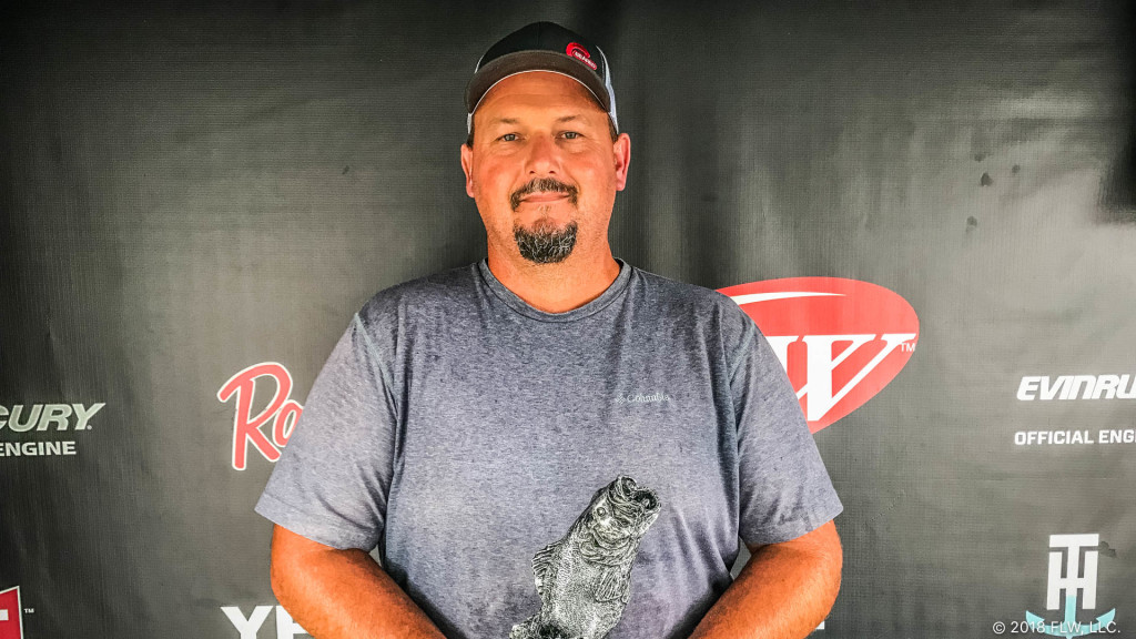 Image for Benton's Wright Wins T-H Marine FLW Bass Fishing League Arkie Division Finale on Lake Hamilton Presented by GEARED