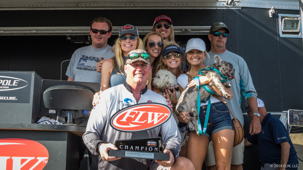 Image for Discovery Bay's Troughton Wins Costa FLW Series Western Division Finale on California Delta presented by Power-Pole