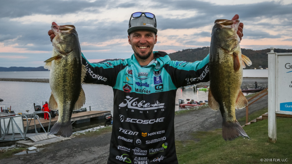 Image for Australia's Jocumsen Leads Day One of Costa FLW Series Championship on Lake Guntersville