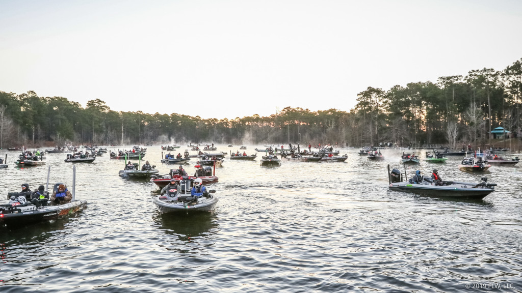 Image for Sam Rayburn Reservoir Readies for 2020 Tackle Warehouse Pro Circuit Opener